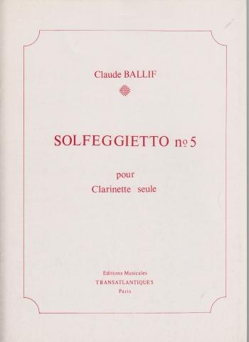SOLFEGGIETTO No.5