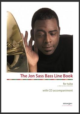 THE JON SASS BASS LINE BOOK + CD