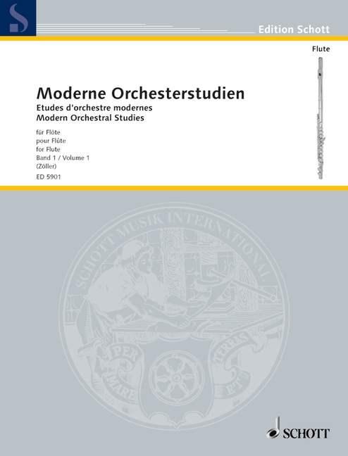 MODERNE ORCHESTERSTUDIEN Volume 1
