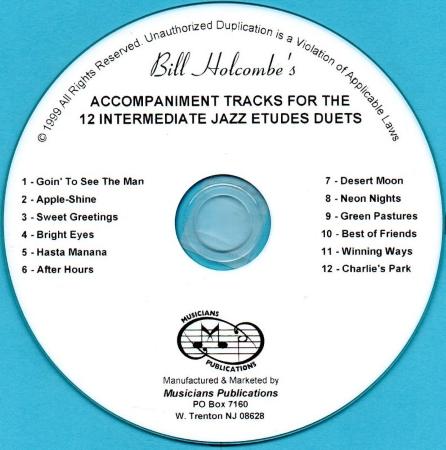 INTERMEDIATE JAZZ ETUDES CD