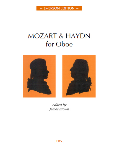MOZART AND HAYDN FOR OBOE