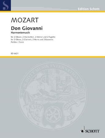DON GIOVANNI Harmoniemusik (score)