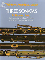 THREE SONATAS from the Flute Quartets