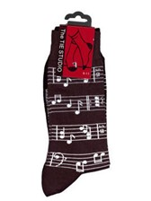SOCKS Sheet Music (Black, Size 6-11)