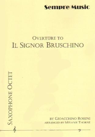 IL SIGNOR BRUSCHINO (score & parts)