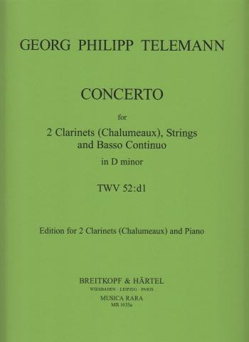 CONCERTO in D minor TWV 52:d1