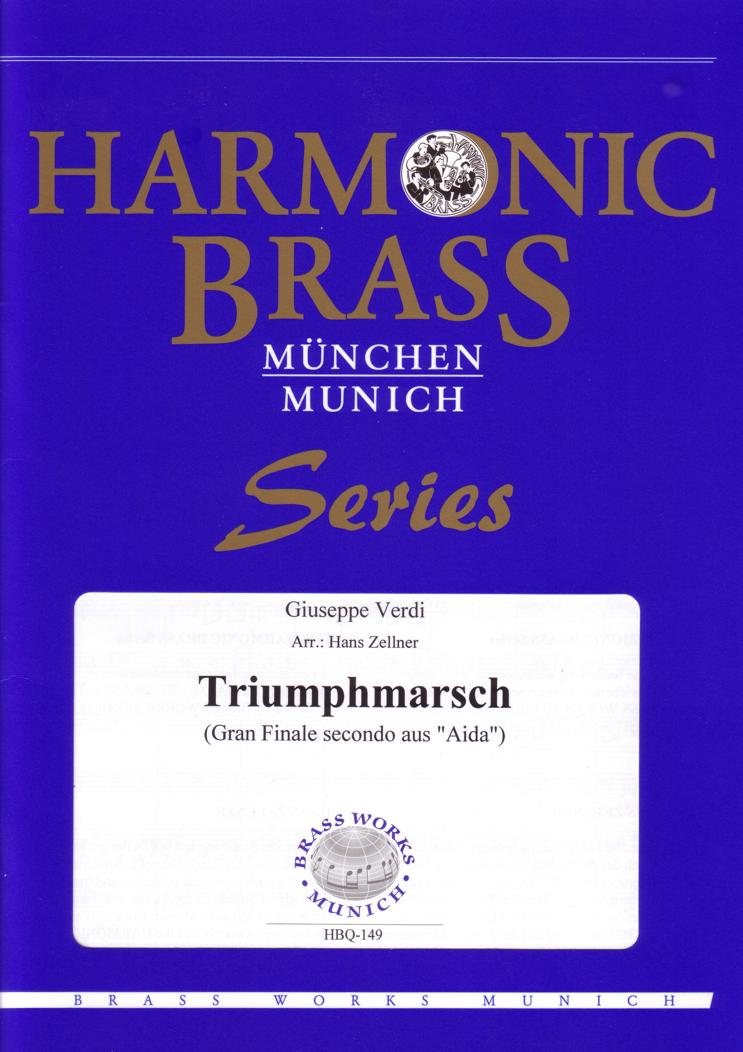 GRAND MARCH (Triumphmarsch) from Aida score & parts