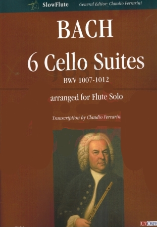 6 CELLO SUITES BWV 1007-1012