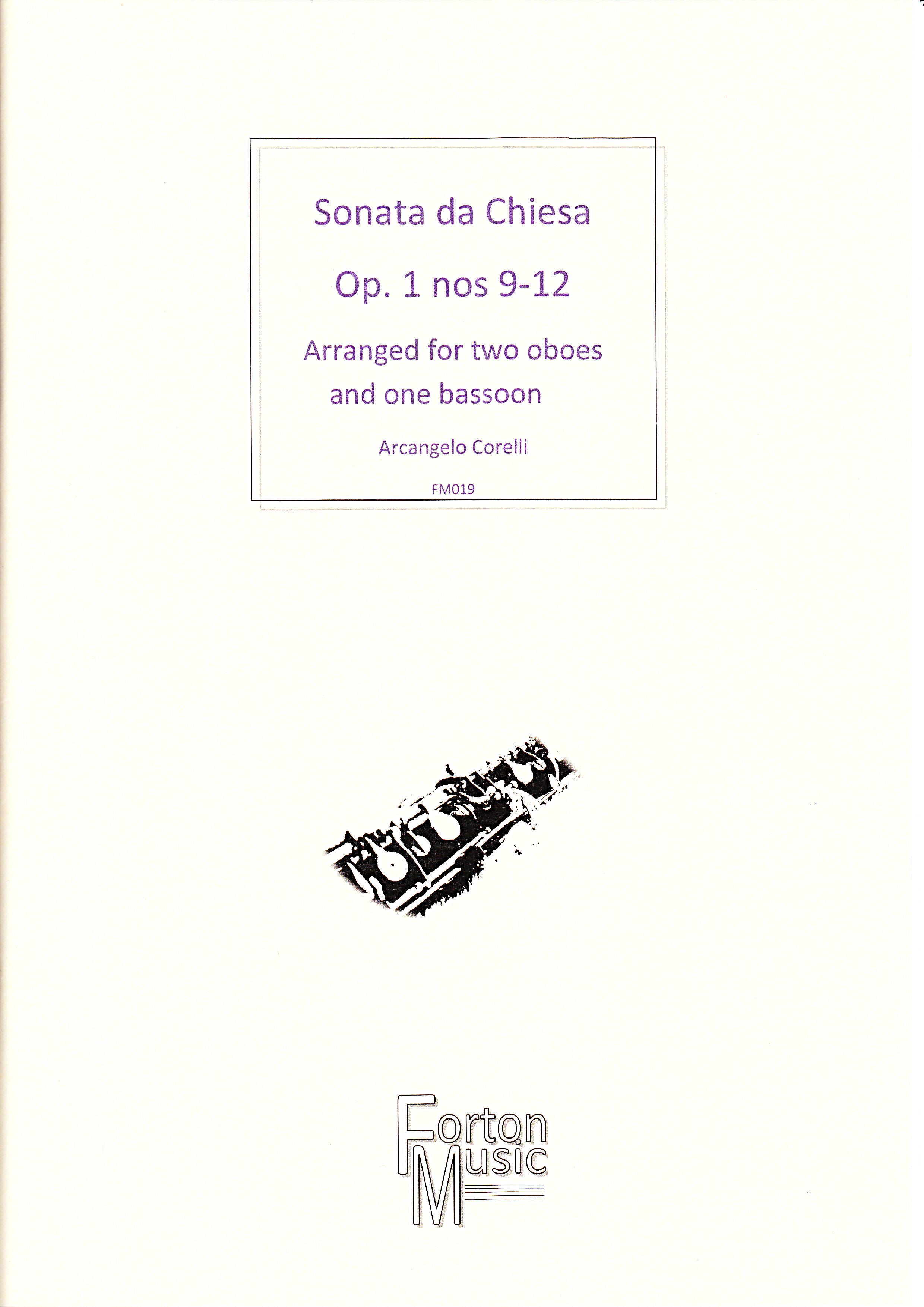 SONATA DA CHIESA Nos.9-12