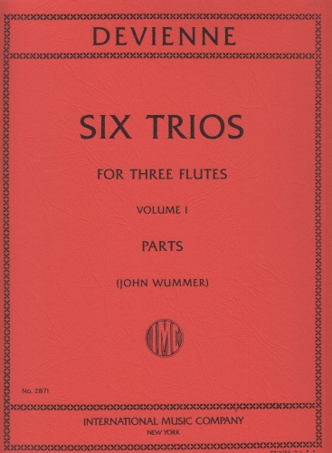 SIX TRIOS Volume 1 (parts only)