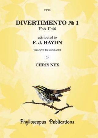 DIVERTIMENTO No.1, Hob.II:46