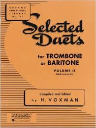 SELECTED DUETS Volume 2 (bass clef)
