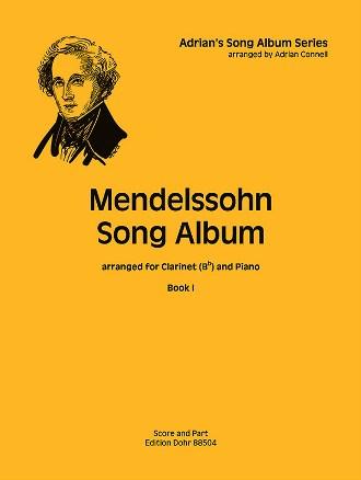 MENDELSSOHN SONG ALBUM Book 1