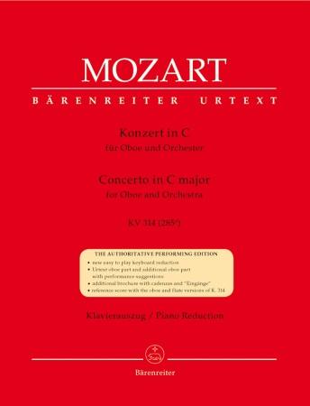 CONCERTO in C major, KV314 (285d)
