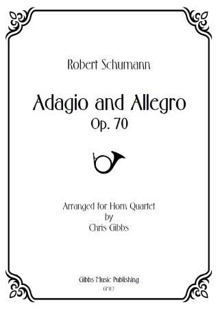 ADAGIO AND ALLEGRO (score & parts)