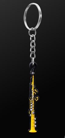 INSTRUMENT KEYRING Soprano Saxophone