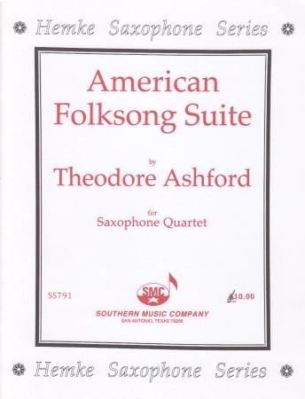 AMERICAN FOLKSONG SUITE score & parts