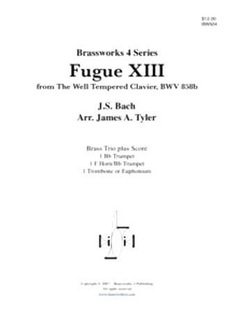 FUGUE XIII