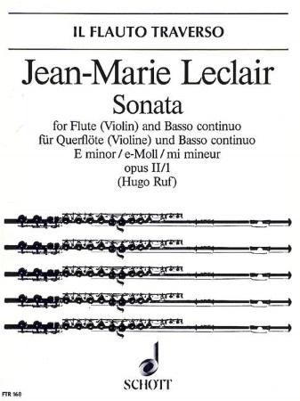 SONATA in E minor Op.2 No.1