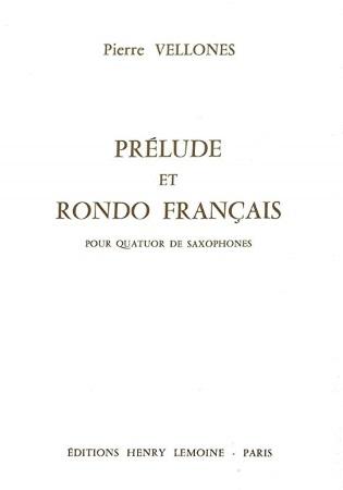 PRELUDE ET RONDO FRANCAIS score & parts