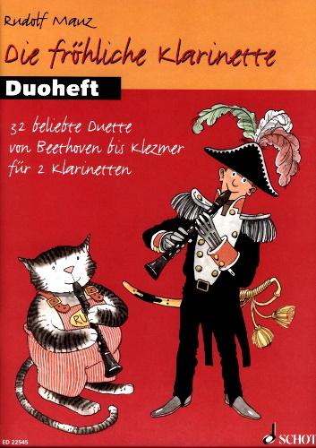DIE FROHLICHE KLARINETTE Duet Book