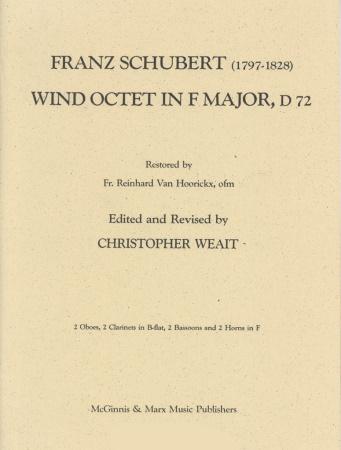 WIND OCTET in F major D.72 (score)