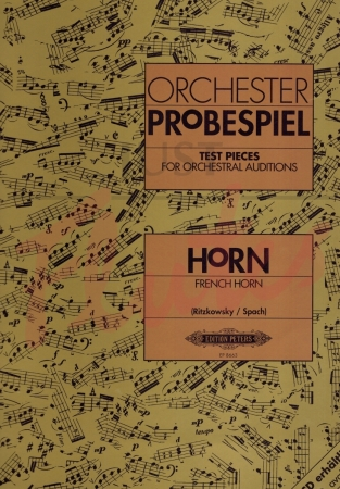 ORCHESTER PROBESPIEL for Horn