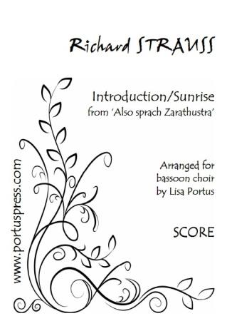INTRODUCTION/SUNRISE form Also Sprach Zarathustra (score & parts)