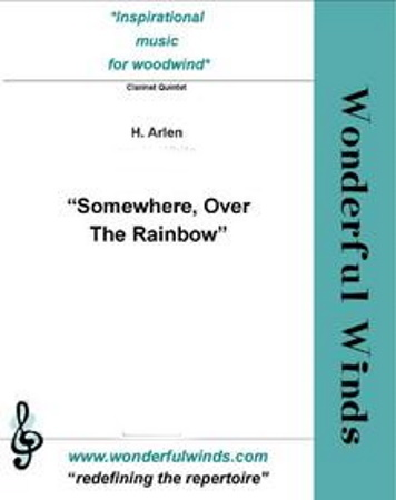OVER THE RAINBOW (score & parts)