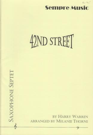 42nd STREET (score & parts)