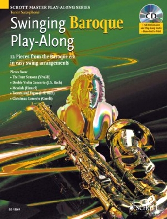 SWINGING BAROQUE PLAYALONG + CD