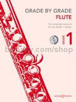GRADE BY GRADE Flute Grade 1 + CD