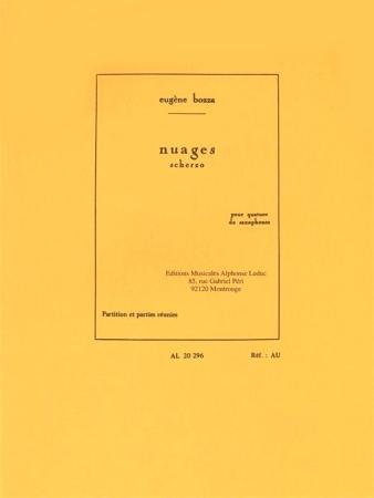 NUAGES Scherzo (score & parts)