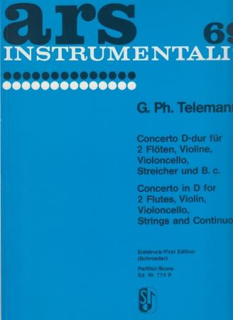 CONCERTO in D orchestral string set