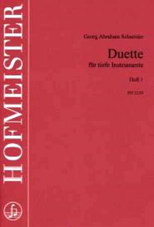 DUETS FOR LOW INSTRUMENTS Volume 1