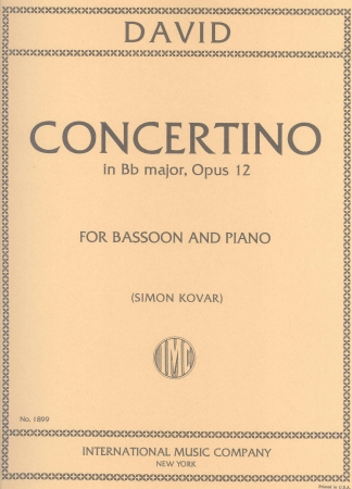 CONCERTINO in Bb major Op.12