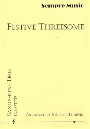 FESTIVE THREESOME score & parts