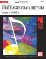 GREAT CLASSICS FOR CLARINET SOLO