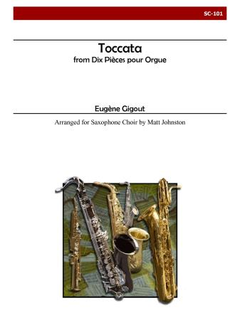 TOCCATA from Ten Pieces for Organ