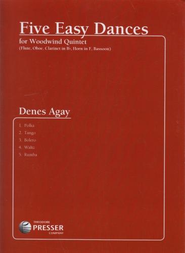 FIVE EASY DANCES (score & parts)