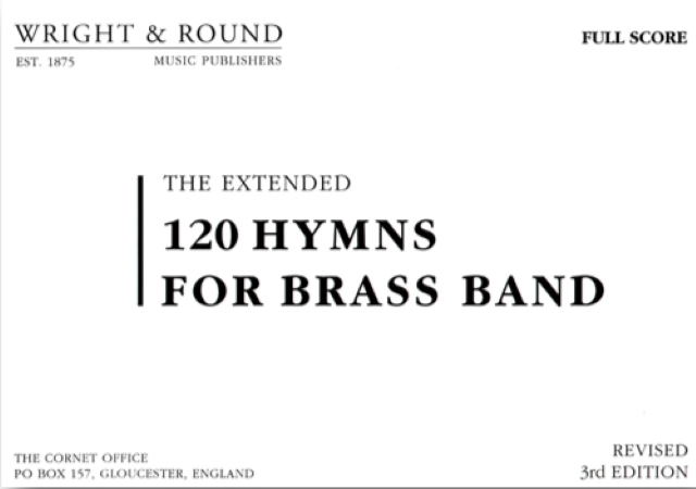 120 HYMNS FOR BRASS BAND Full Score