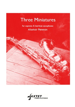 THREE MINIATURES (playing score)