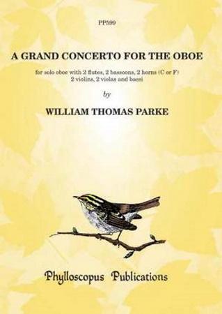A GRAND CONCERTO FOR THE OBOE score & parts