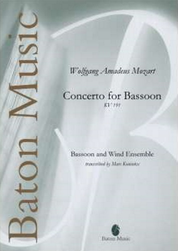 CONCERTO FOR BASSOON KV 191