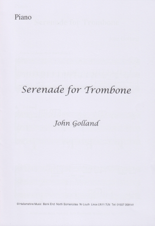 SERENADE FOR TROMBONE (treble clef)