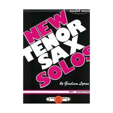 NEW TENOR SAX SOLOS Book 1 + CD