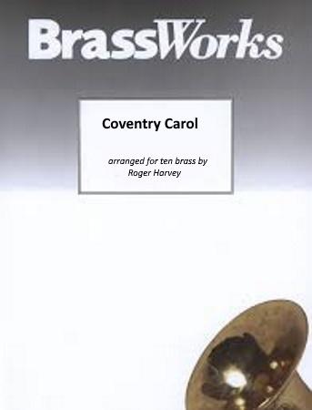COVENTRY CAROL (score & parts)