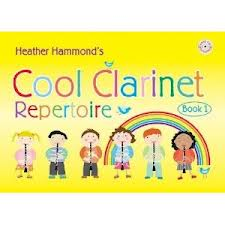 COOL CLARINET REPERTOIRE Book 1 + CD