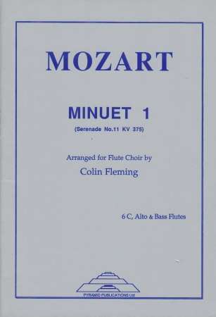 MINUET 1 from Serenade KV375