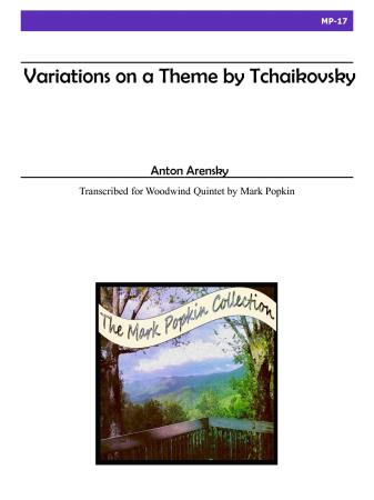 VARIATIONS ON A THEME BY TCHAIKOVSKY, Op.35A